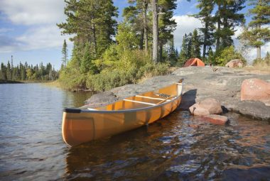Kevlar Canoe
